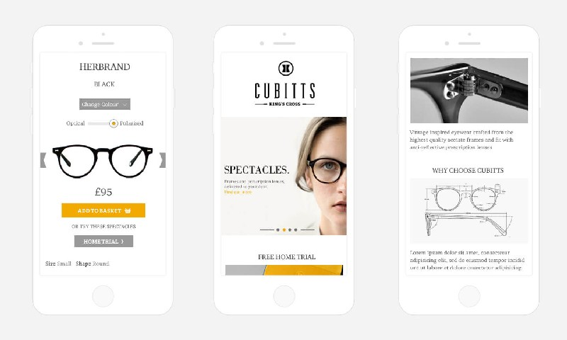 Cubitts | Warby Parker Competitor