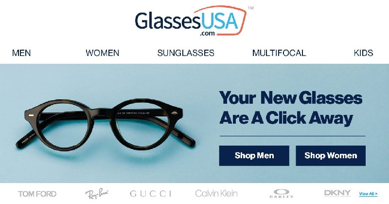 GlassesUSA | Warby Parker Competitor