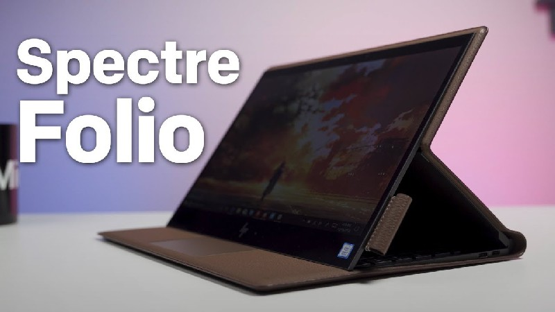 HP Spectre Folio | Surface Pro Competitor | Surface Pro Competitor